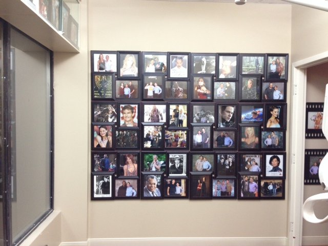 Bradford Family Dentistry Photo Wall