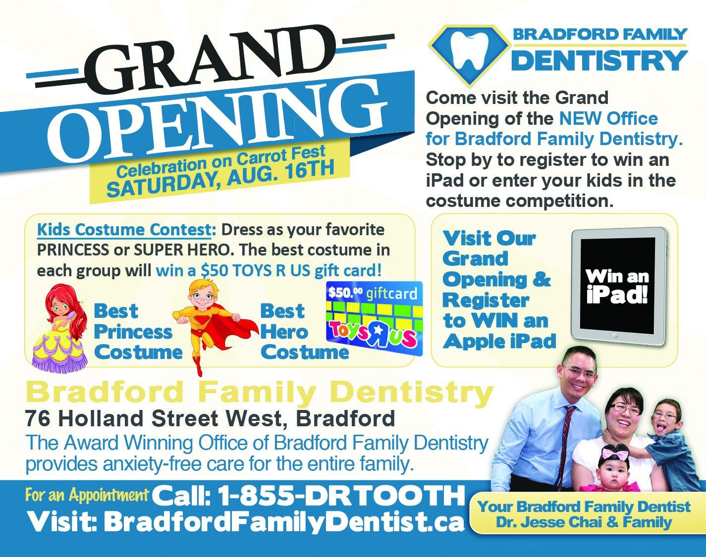 Bradford Family Dentistry - Carrot Fest