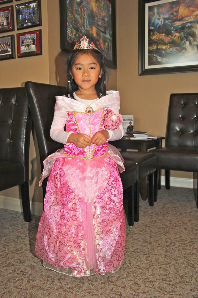 Bradford Family Dentistry our very own princess