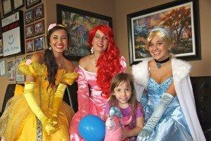 Bradford Family Dentistry princesses