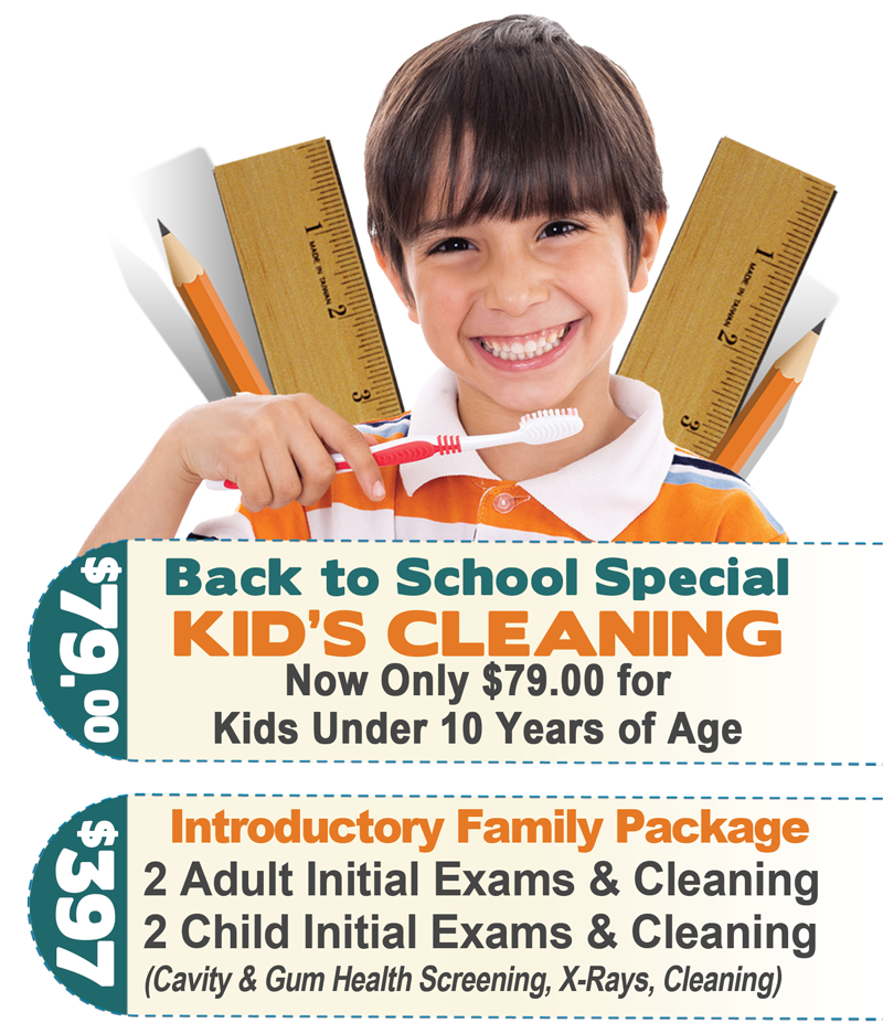 Back to School Special Offer 2018