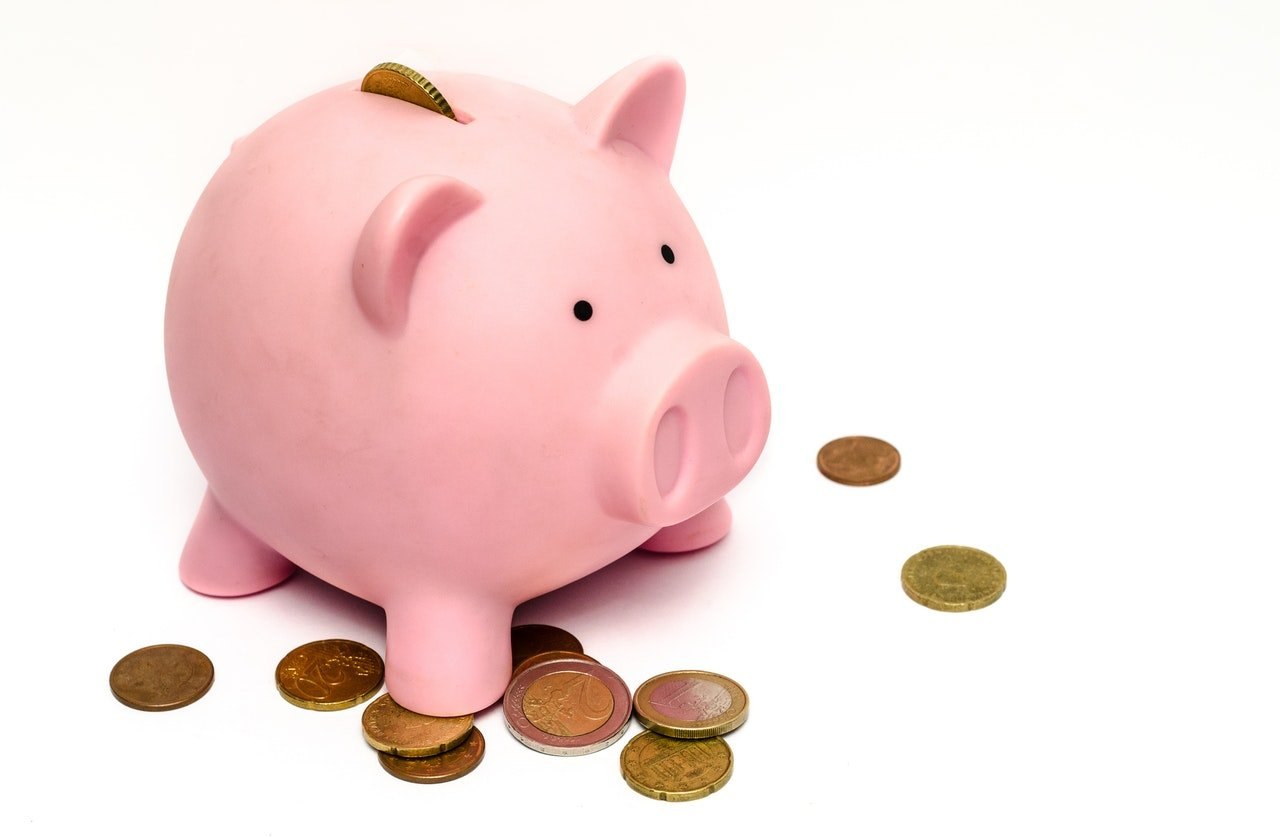Piggy Bank Savings Don't Waste Money