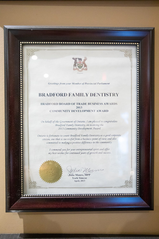 Community Development Award BBT 2013