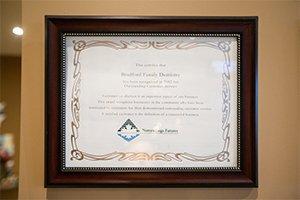 Award -BradfordFamilyDentistry-7968
