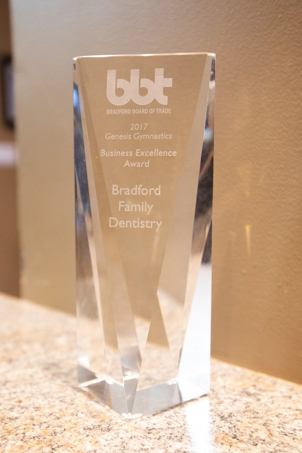 Bradford Business Excellence Award 2017