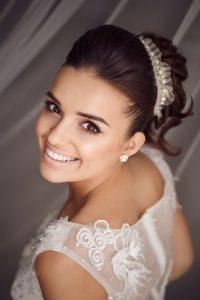 bride's smile