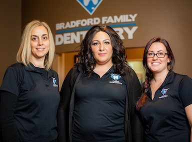 Reception Team Bradford family dentistry