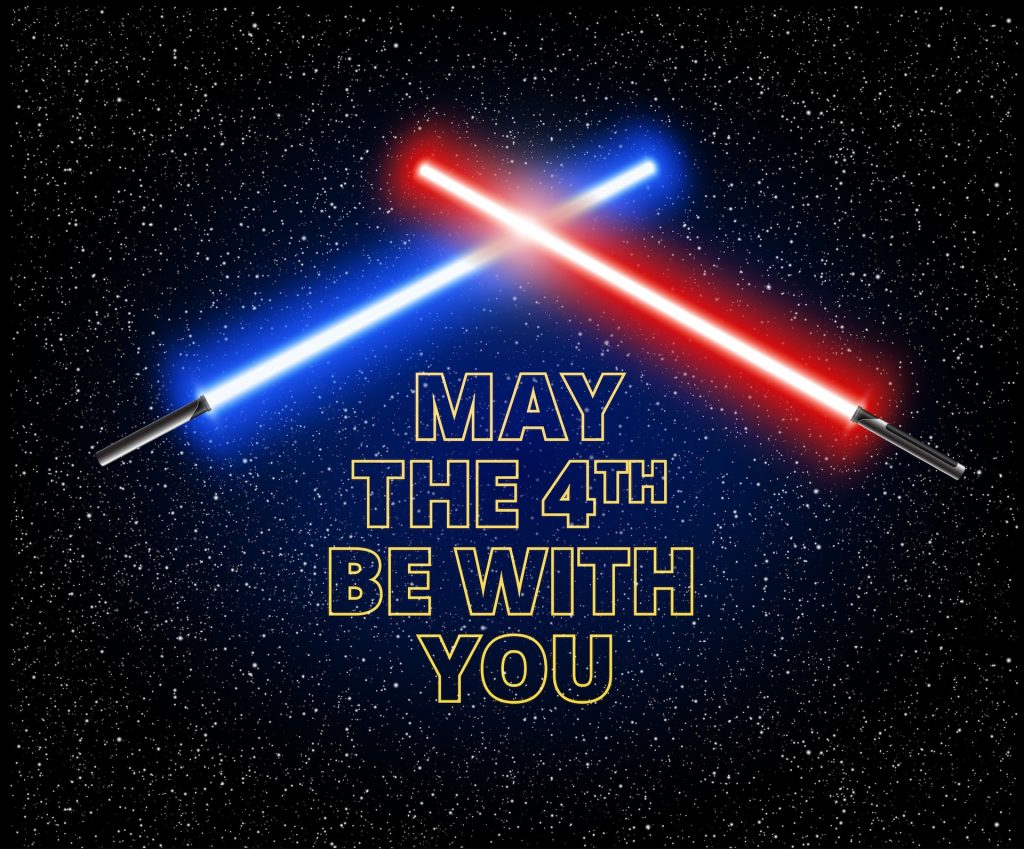 May the fourth be with you and your smile