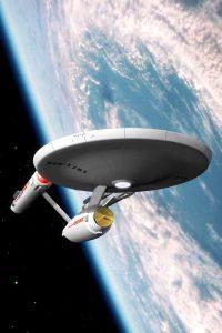 The Star Trek Enterprise Photo - Prosper with Dental Implants