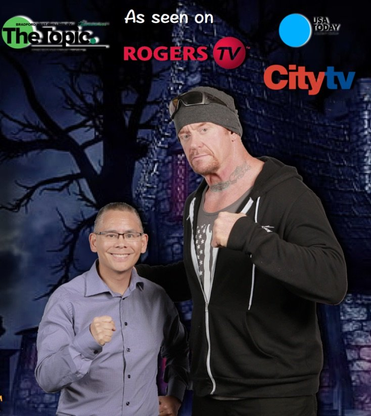 Dr Chai and WWE Undertaker - Anxiety Free Dentistry - Fear of Dentist