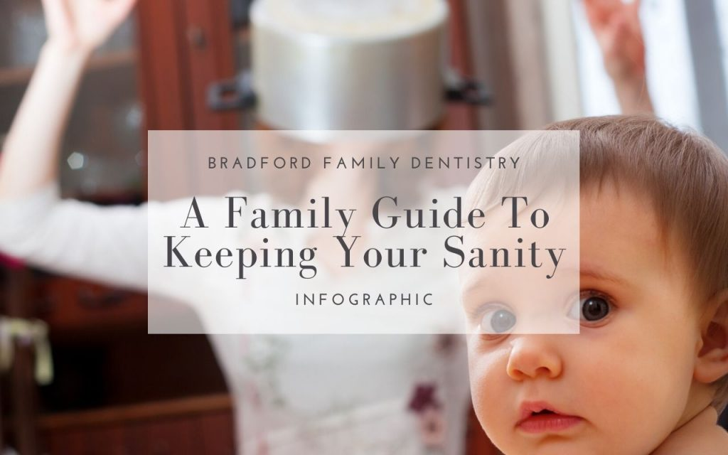 A Family Guide To Keeping Your Sanity - Infographic