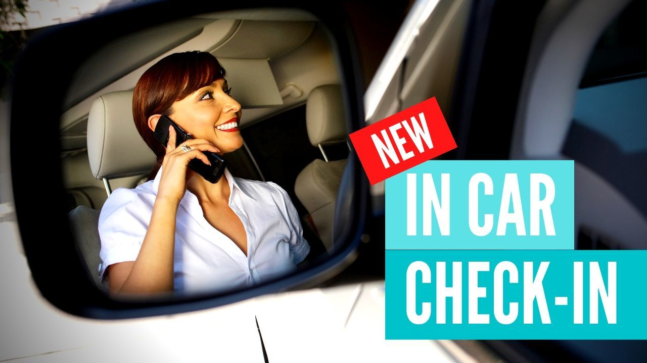 In Car Check in Dental emergency bradford