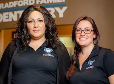 Bradford Family Dentistry Reception Team