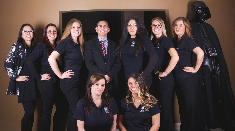 Bradford Family Dentistry Team Photo 2020