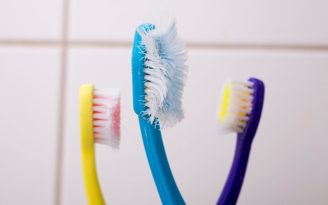 old-toothbrush-with-flat-bristles-valentine-bad-breath-Bradford-Family-Dentistry
